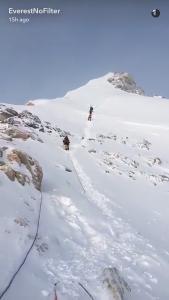 Everest-Snapchat